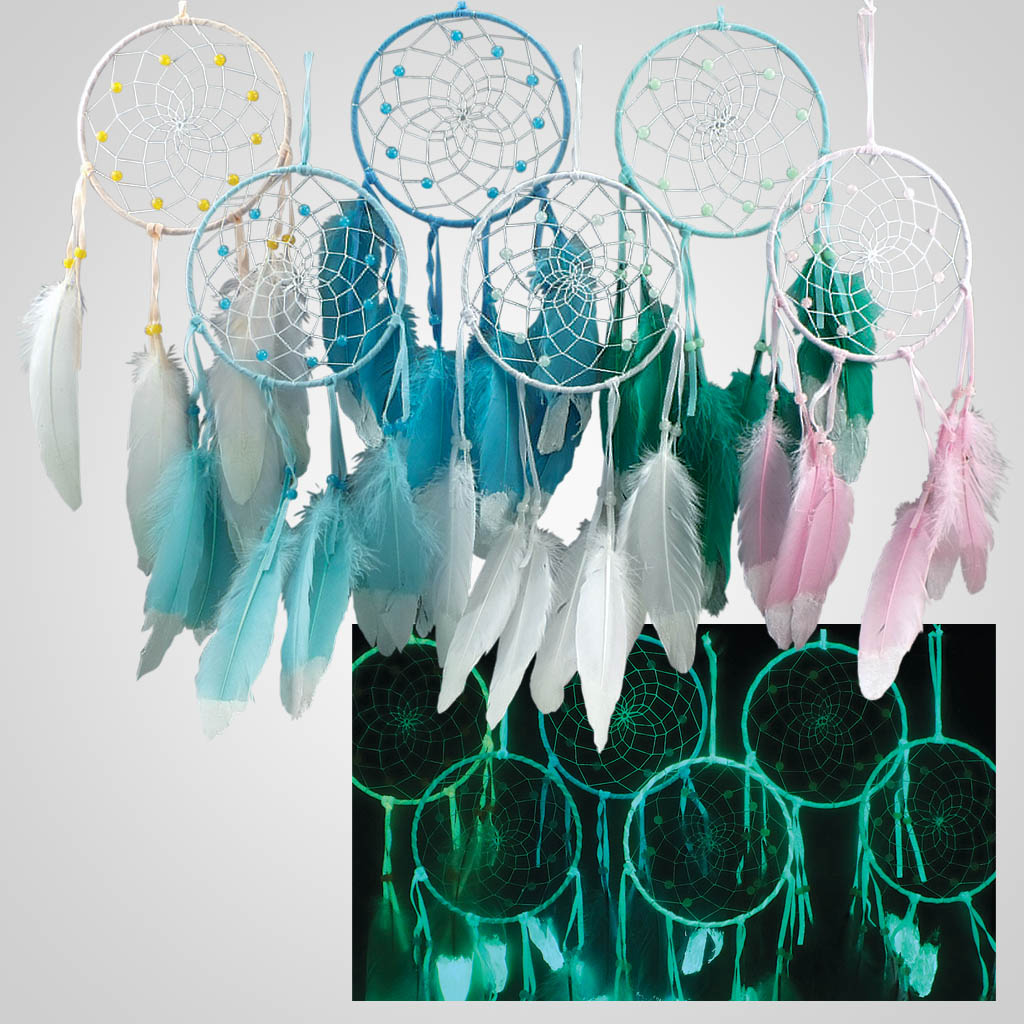 19381 - Glow-In-The-Dark Dreamcatcher