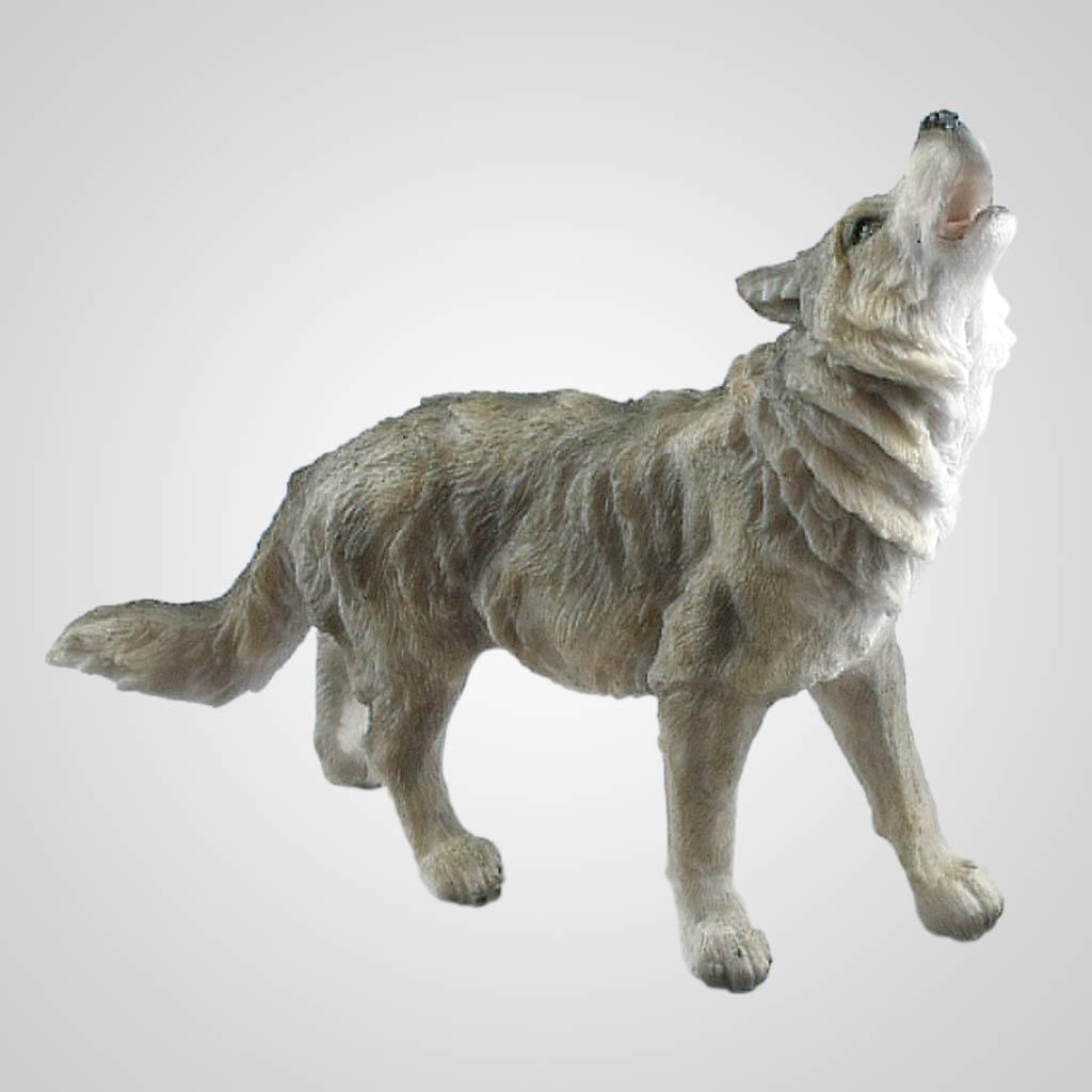 19420 - Howling Wolf Figurine
