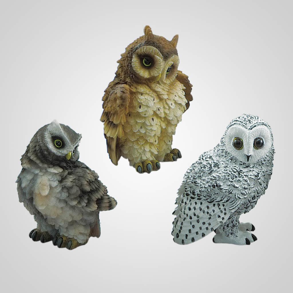 19430 - Owl Breeds Figurine