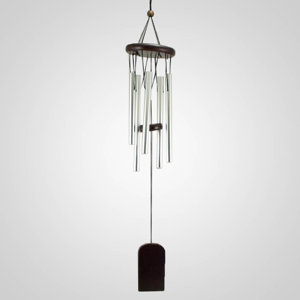 19441 - Black Wood Wind Chime