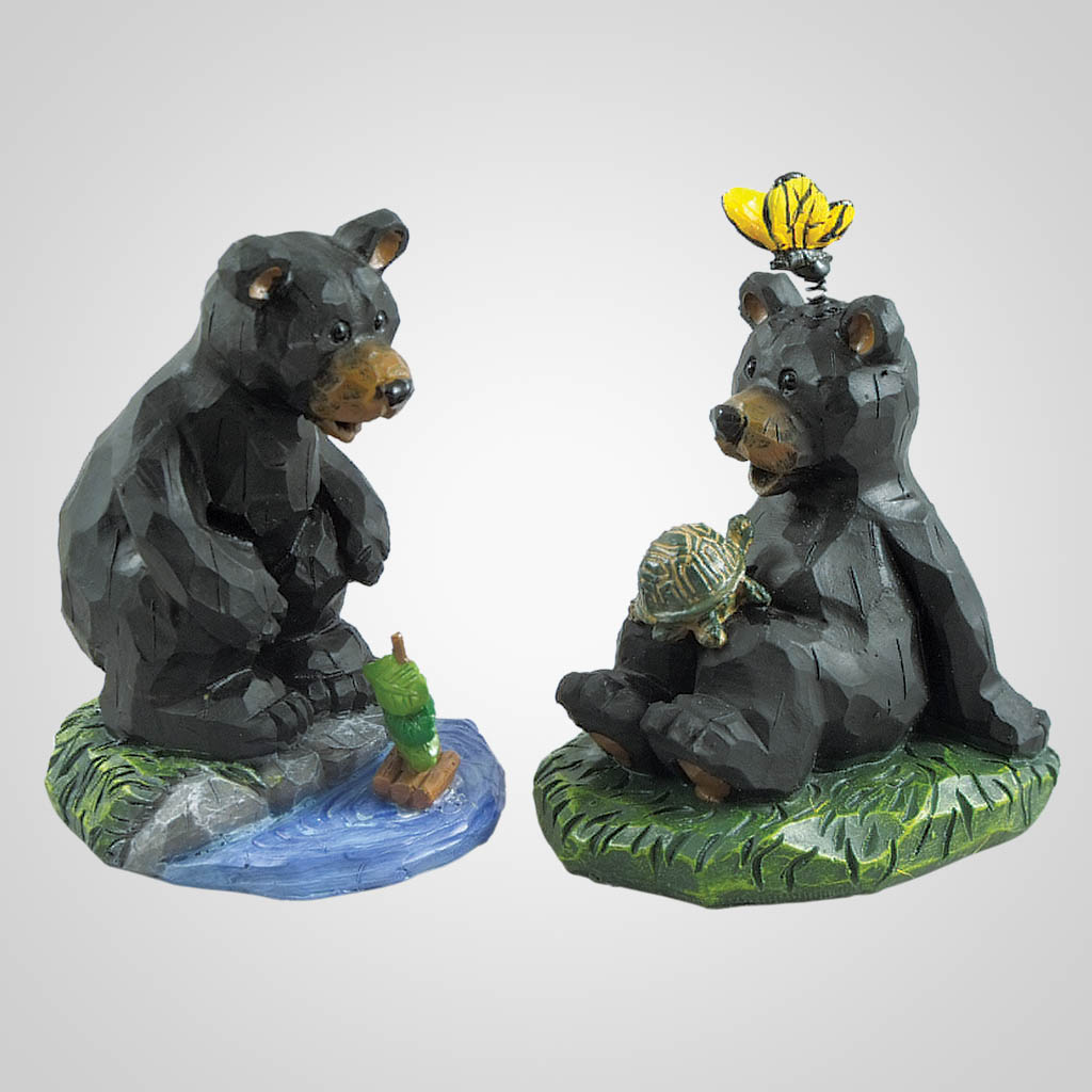 19446 - Bear At Play Figurine