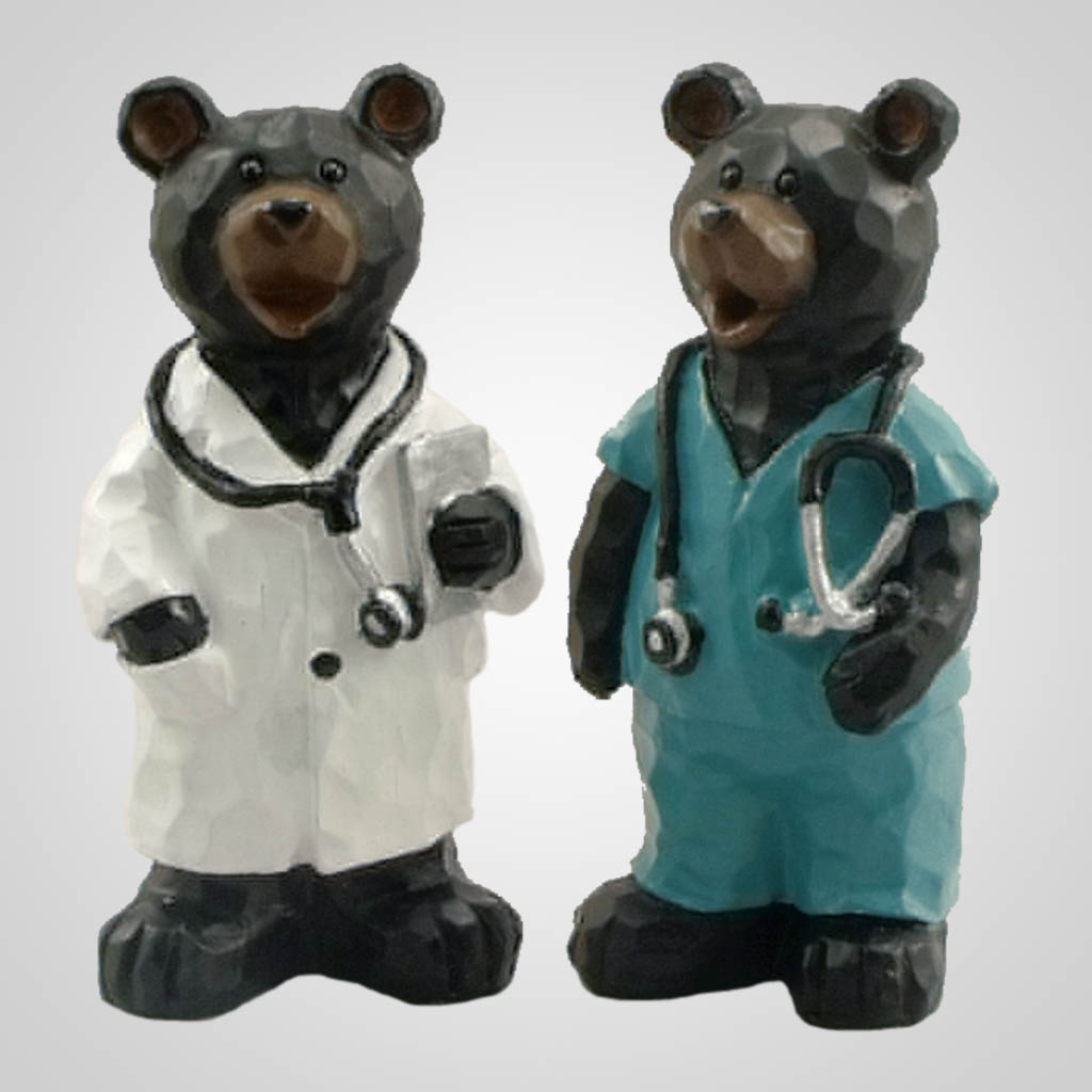 19449 - Medical Doctor Bear Figurines