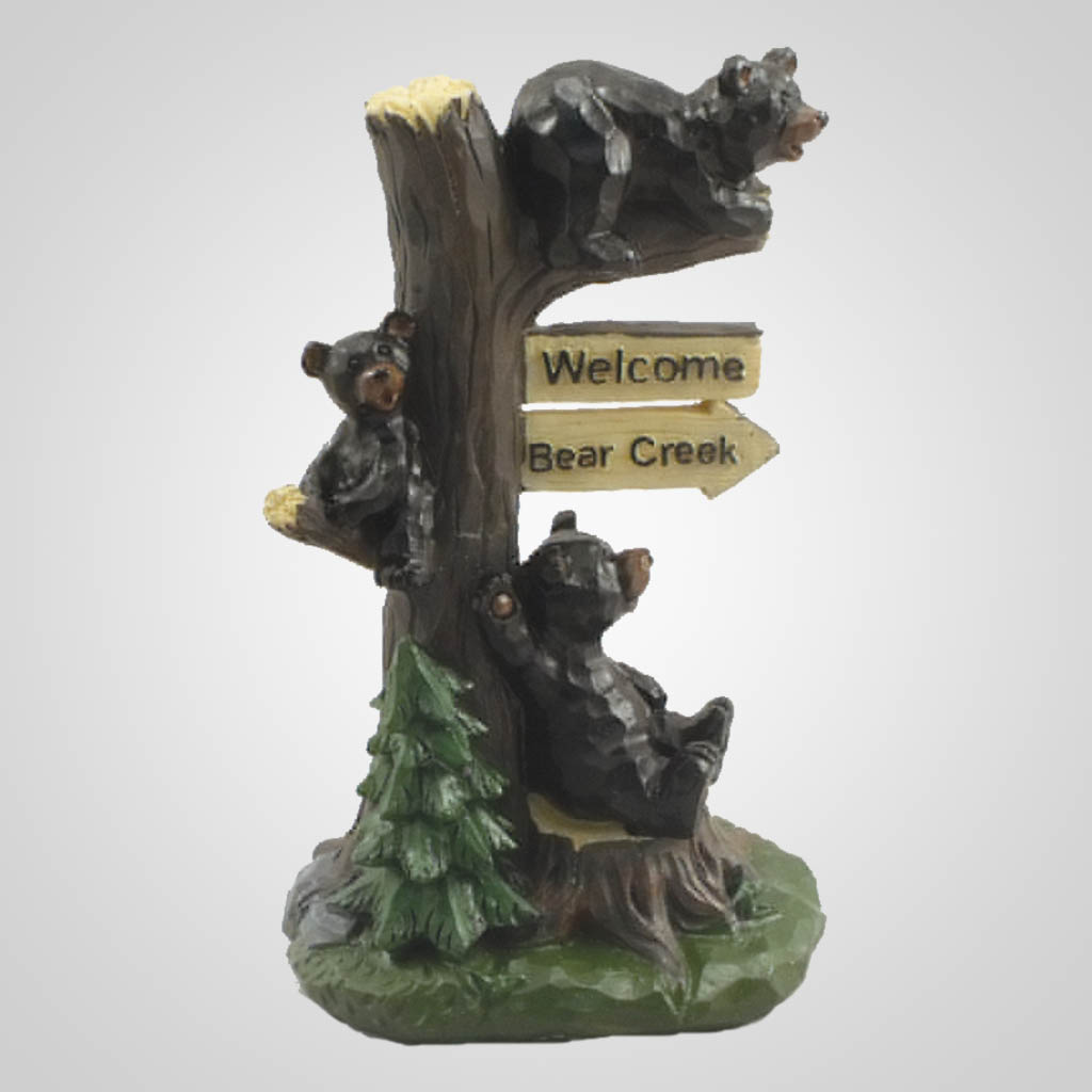 19451 - Welcome Bears In Tree