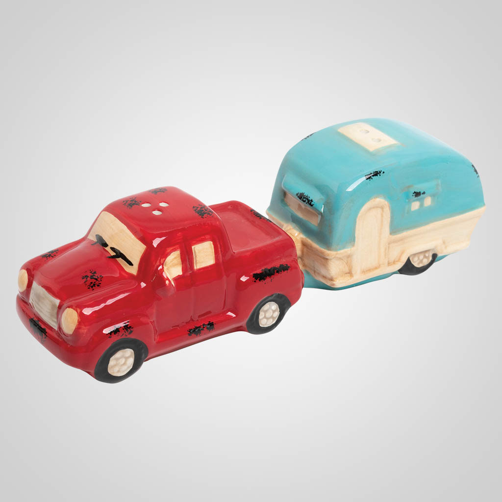 19454 - RETRO CAMPER SALT & PEPPER