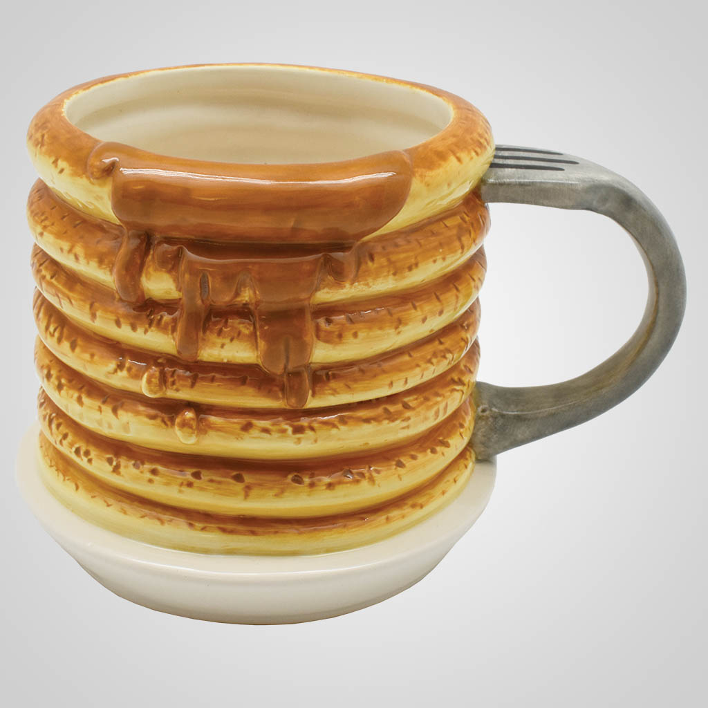 19552 - Pancake Stack Mug, Plain