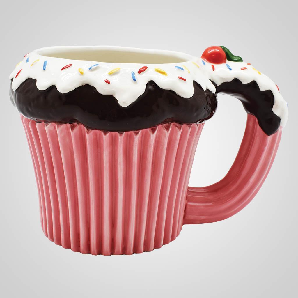 19554 - Cupcake Mug, Plain