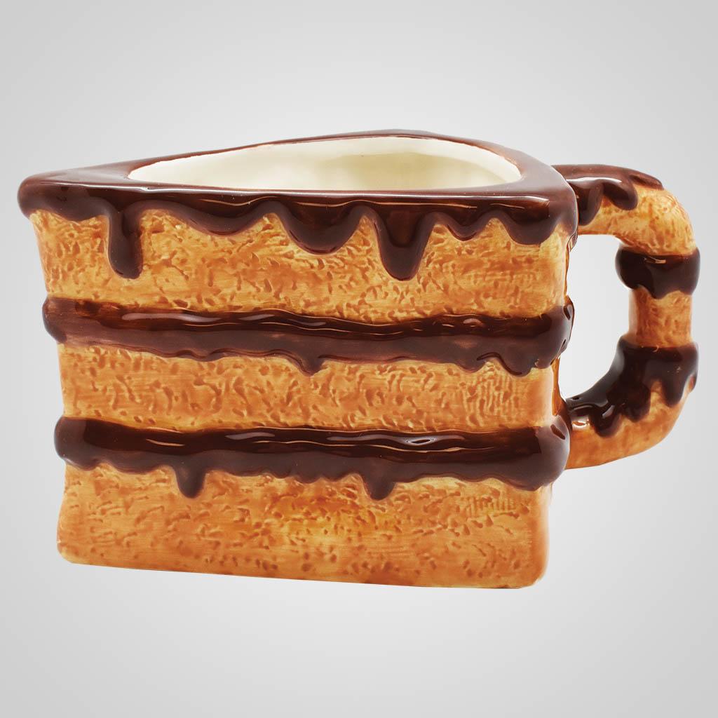 19555 - Cake Slice Mug, Plain