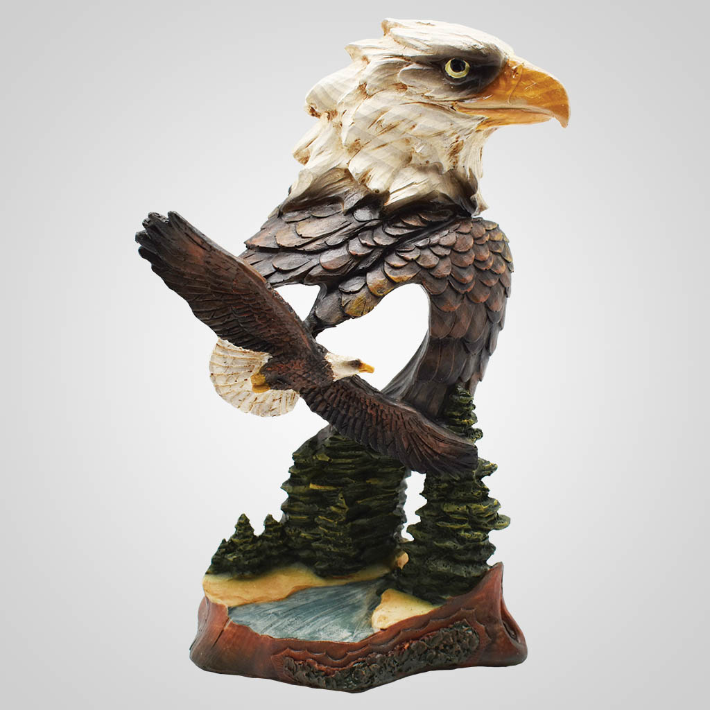19557 - Eagle Duo Figurine