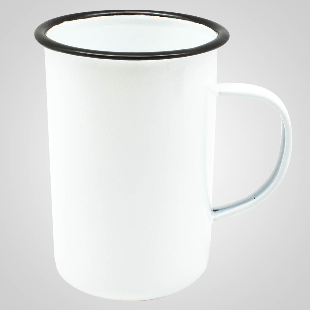 19562PL - Tall Enamelware Mug