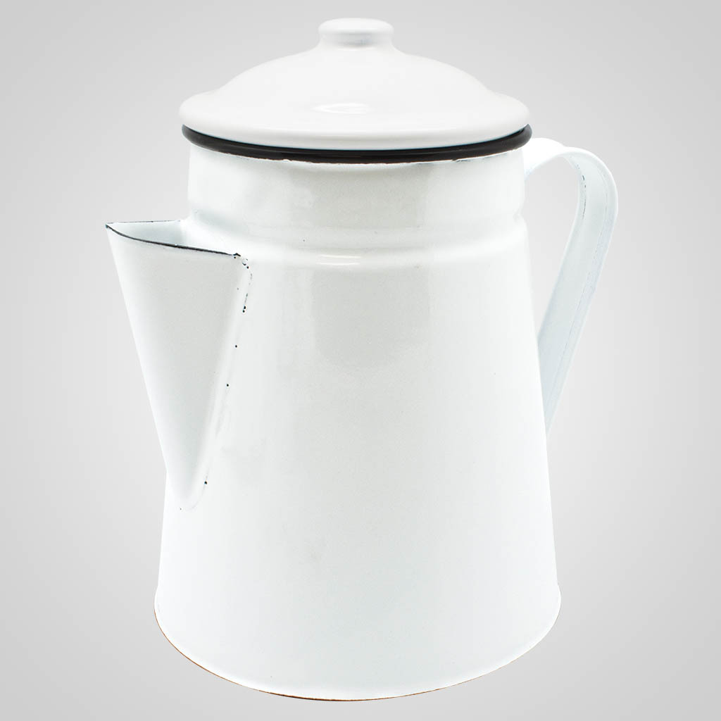 19566PL - Enamelware Coffee Server