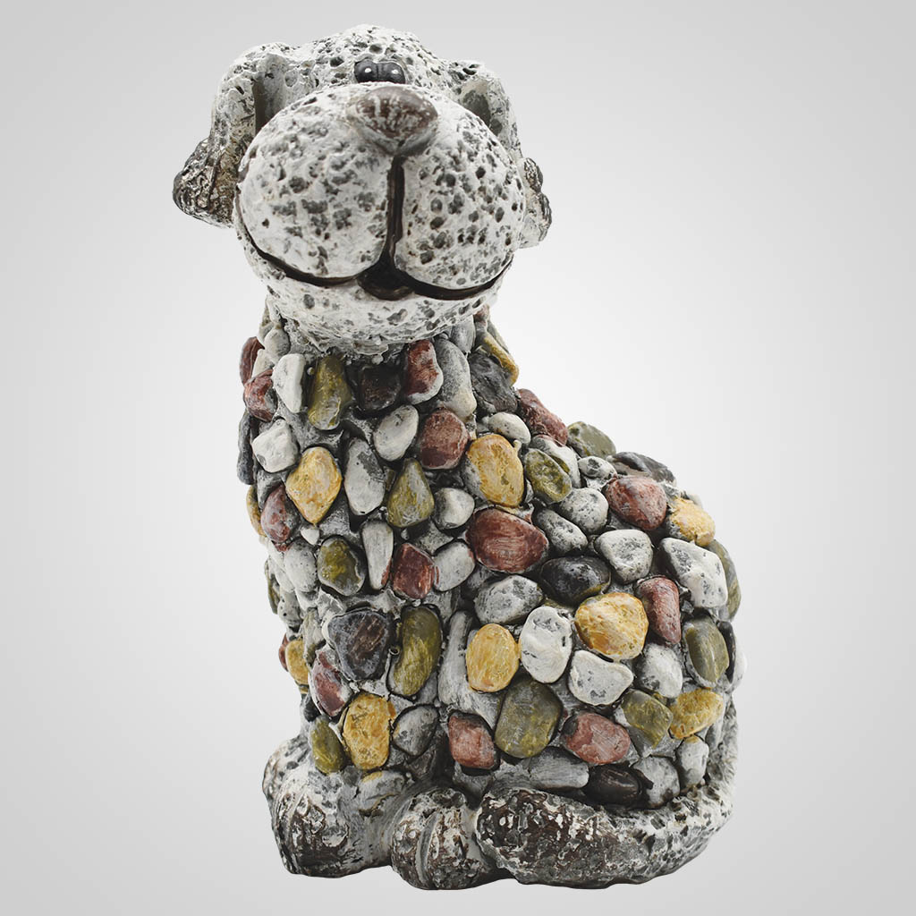 19575 - Pebble-Stone Garden Puppy