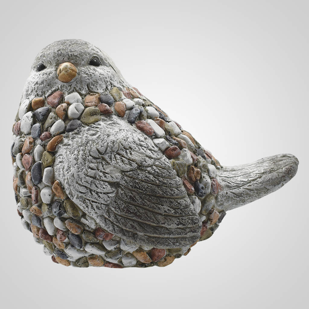 19576 - Large Pebble-Stone Garden Bird