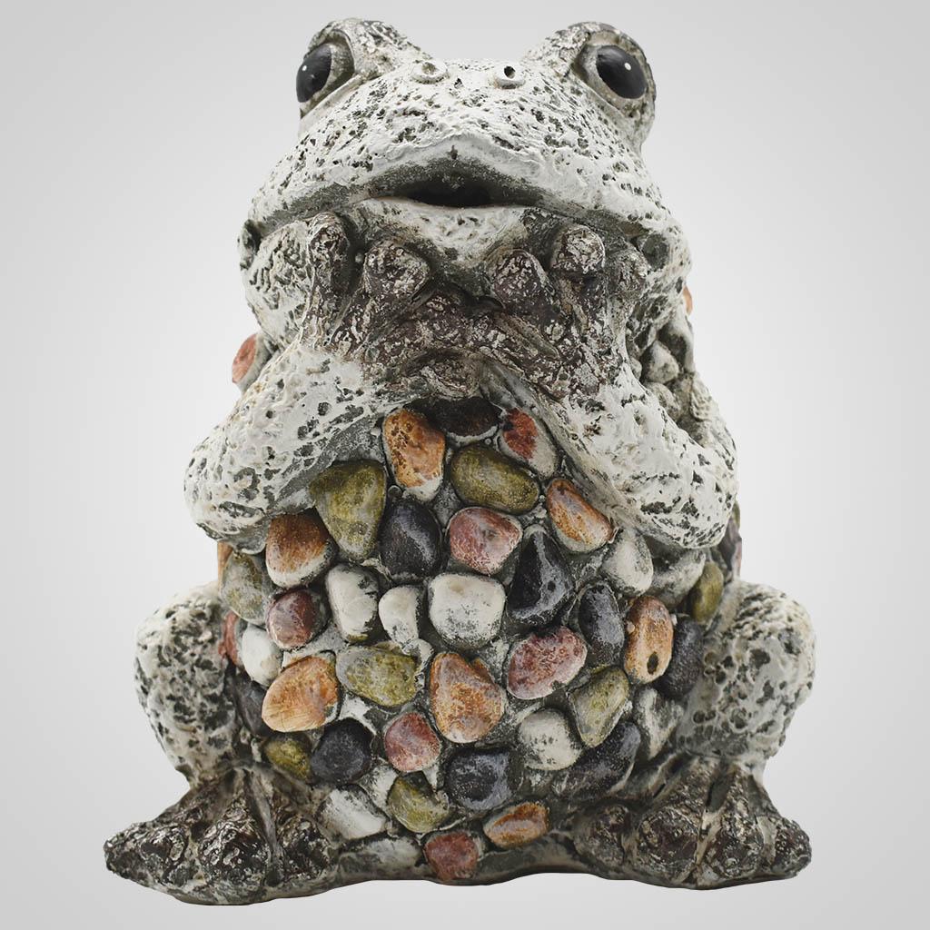 19577 - Pebble-Stone Garden Frog