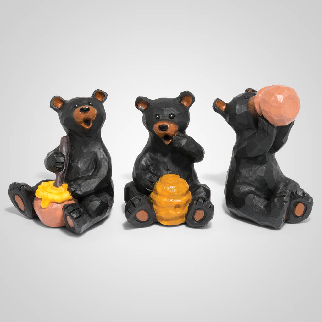 19579 - Honey Bear Figurine