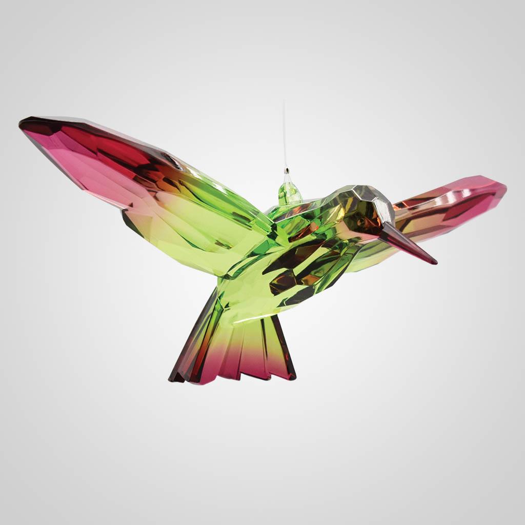 19608 - Hummingbird Crystal Ornament