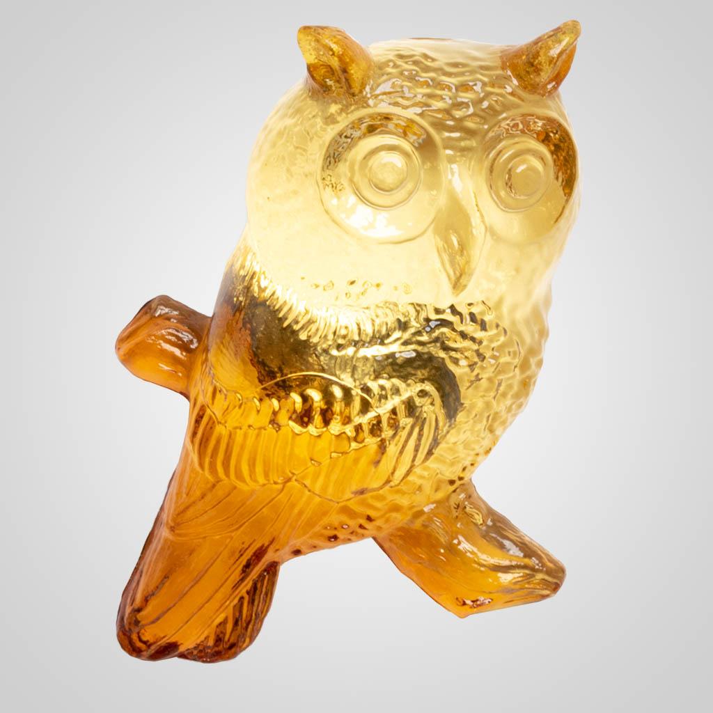19619 - Owl Crystal Magnet