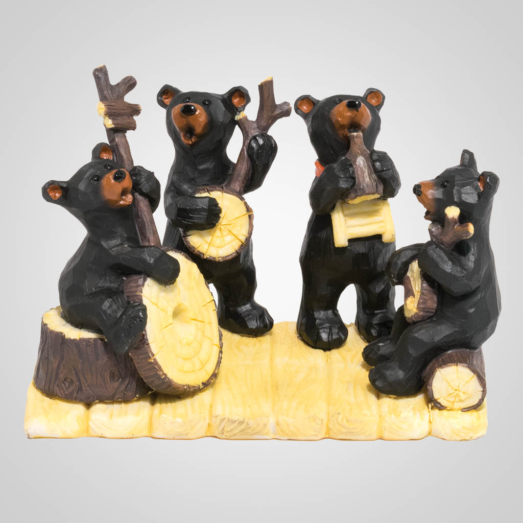 19624 - Bear Band Figurine