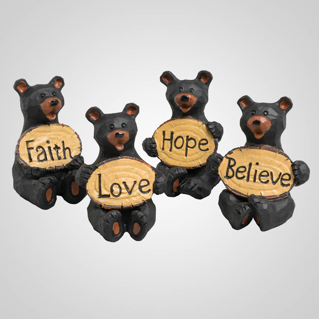 19625 - Bears With Signs