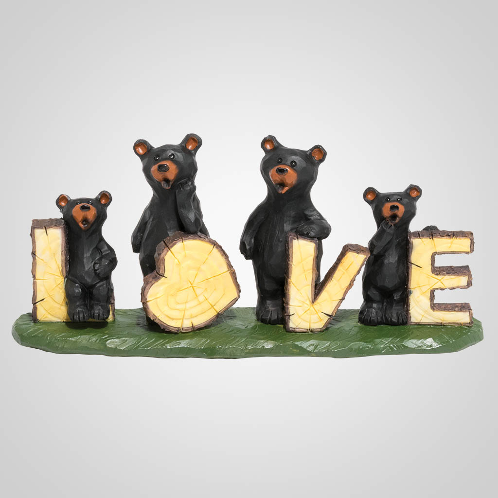 19627 - Bear Love Figurine