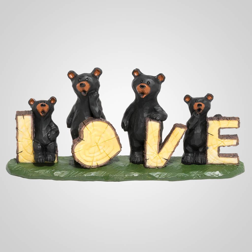 19627 - Bear Love Figurine