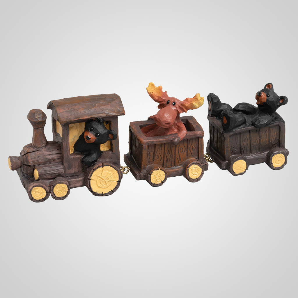 19628 - Bear & Moose Toy Train