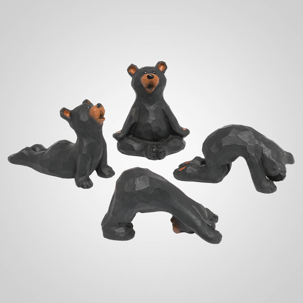 19630 - Yoga Pose Bears