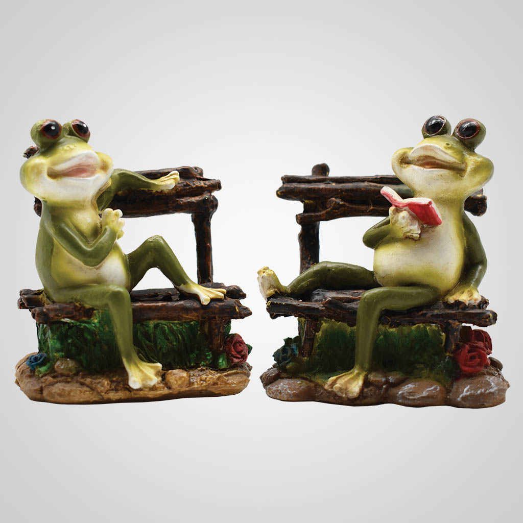 19650 - Frogs on Chairs