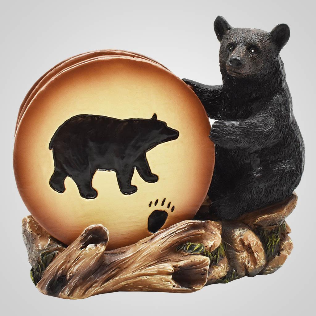19652 - Bear Coaster Set