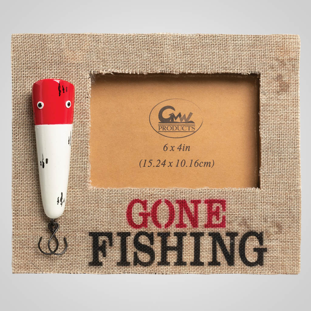 19655 - Fishing Lure Picture Frame