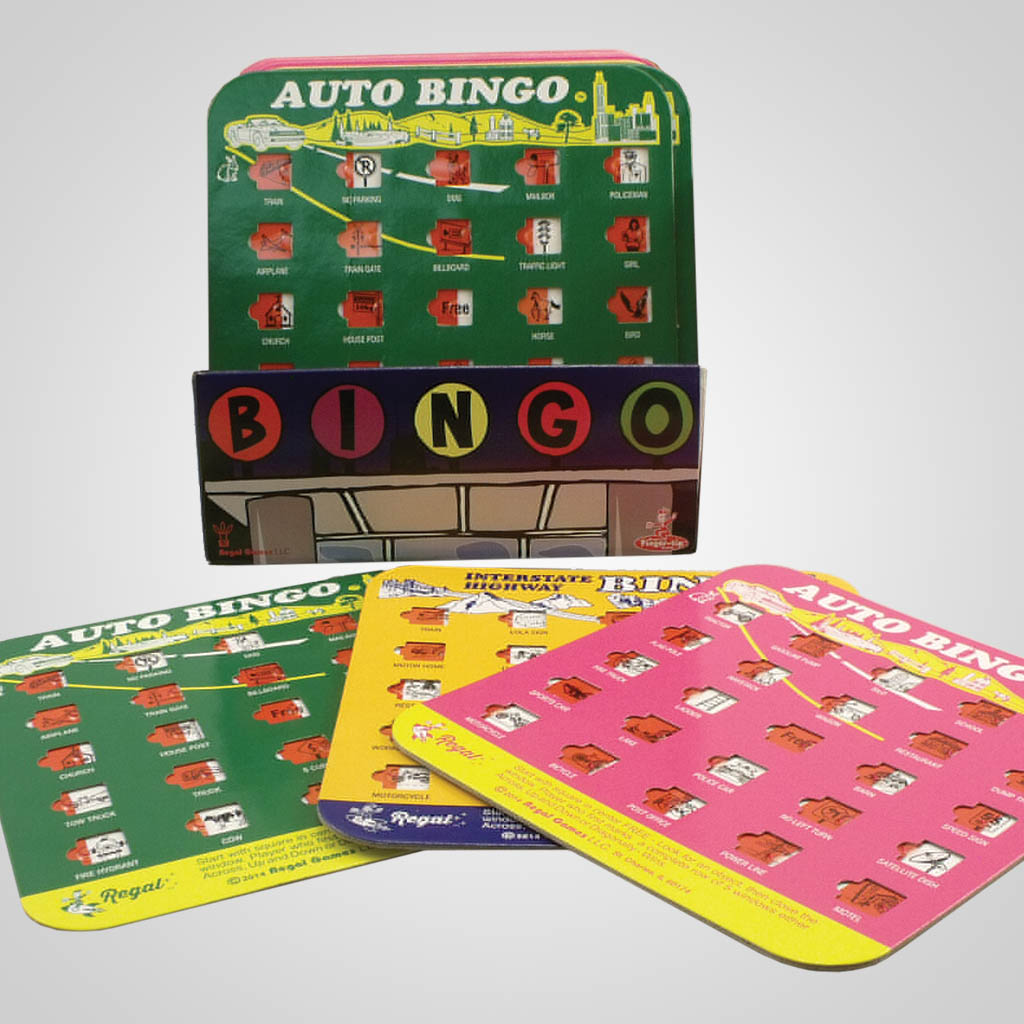 3-9172PL - Bingo Travel Game, Plain