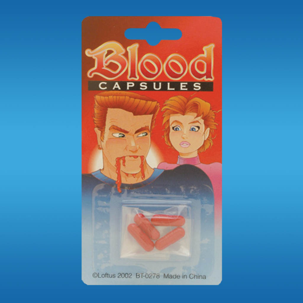 3-BT0278 - Joke Blood Capsules