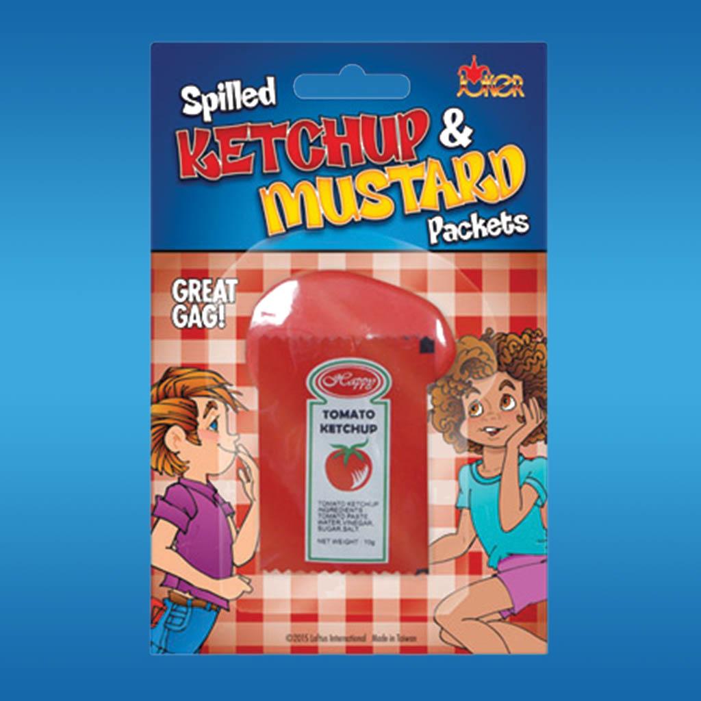 3-DC9187 - Joke Ketchup & Mustard Spill