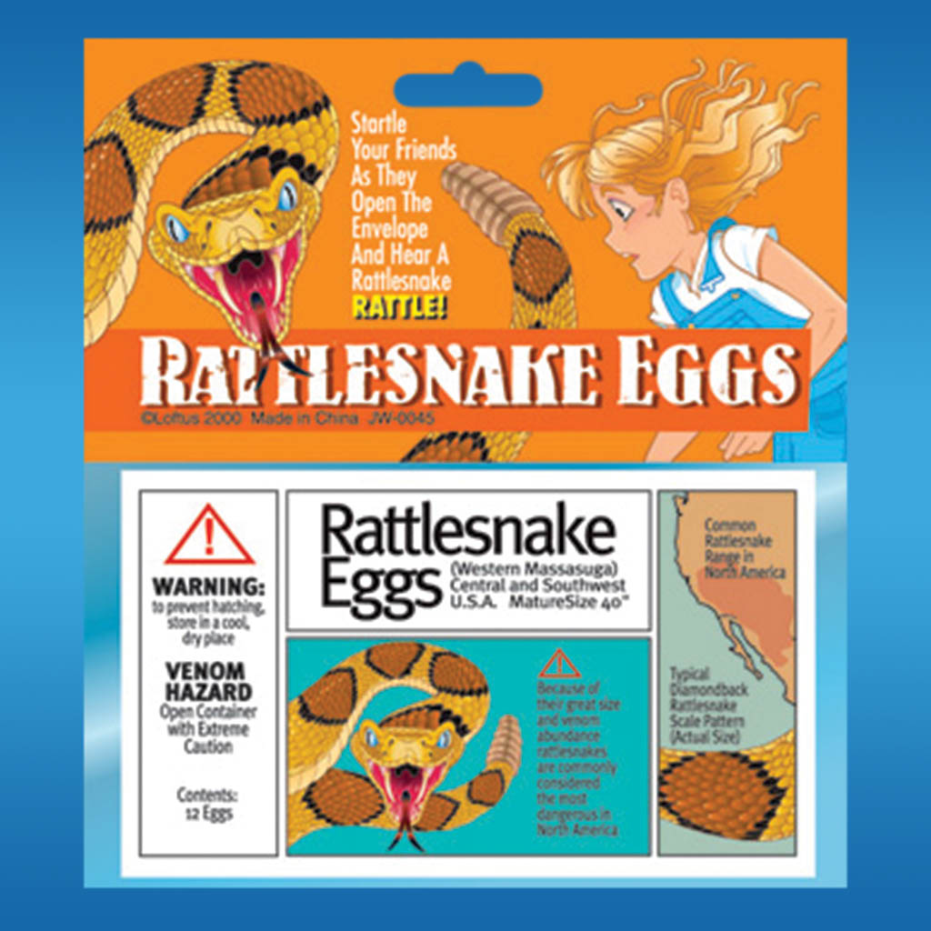 3-JW0045 - Joke Rattlesnake Eggs