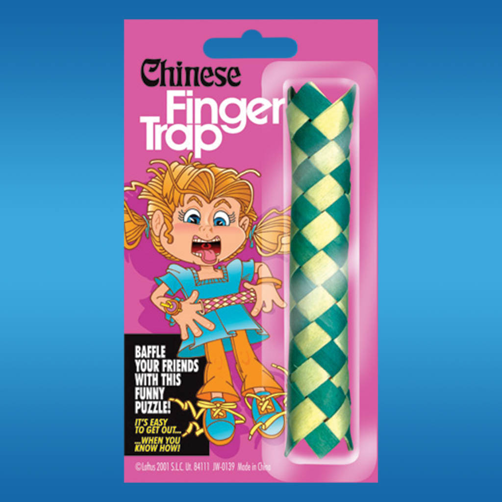 3-JW0139 - Chinese Finger Trap