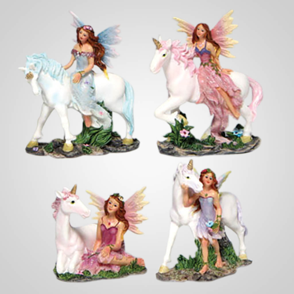 3-PDP78 - Fairy With Unicorn