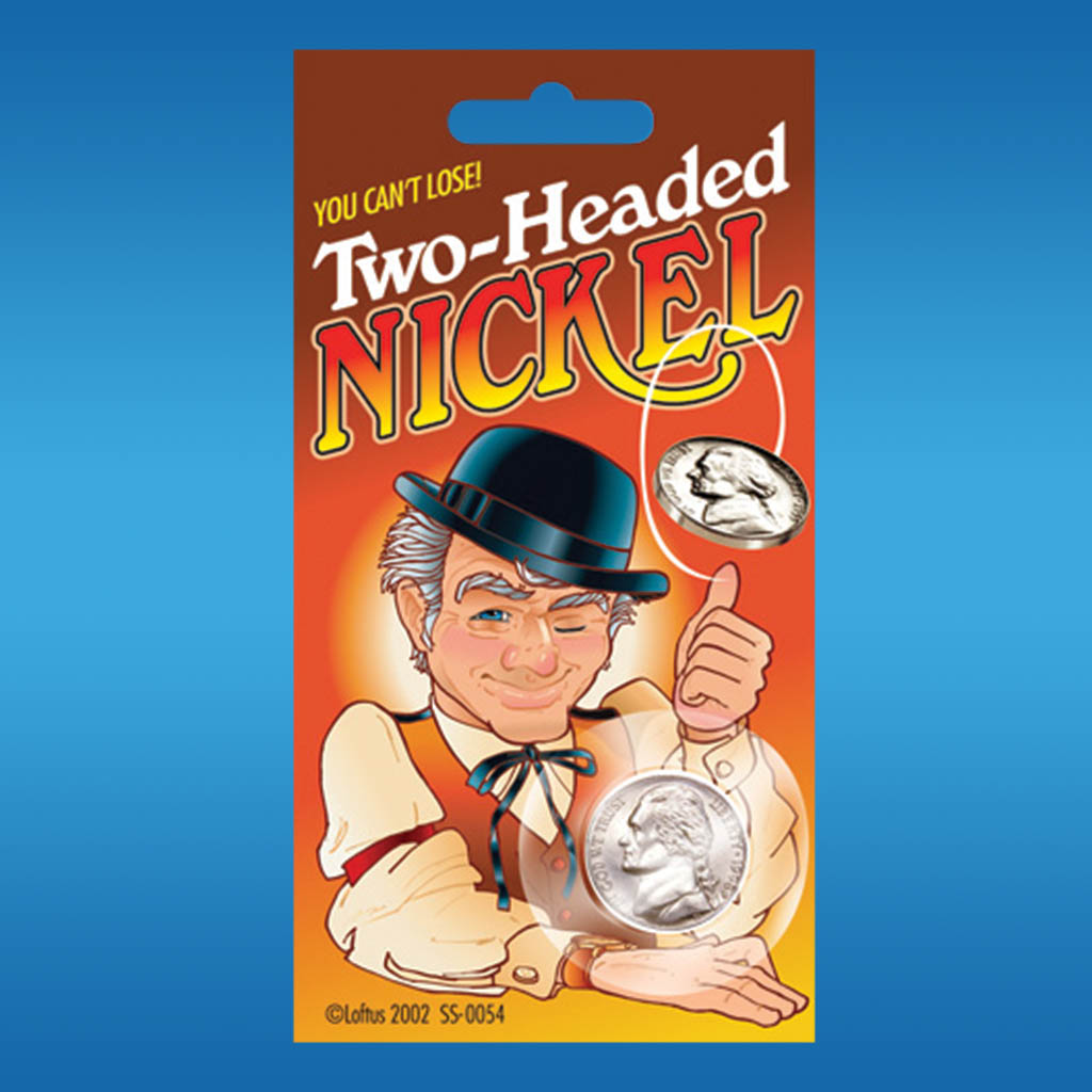 3-SS0054 - Joke Two-Headed Nickel