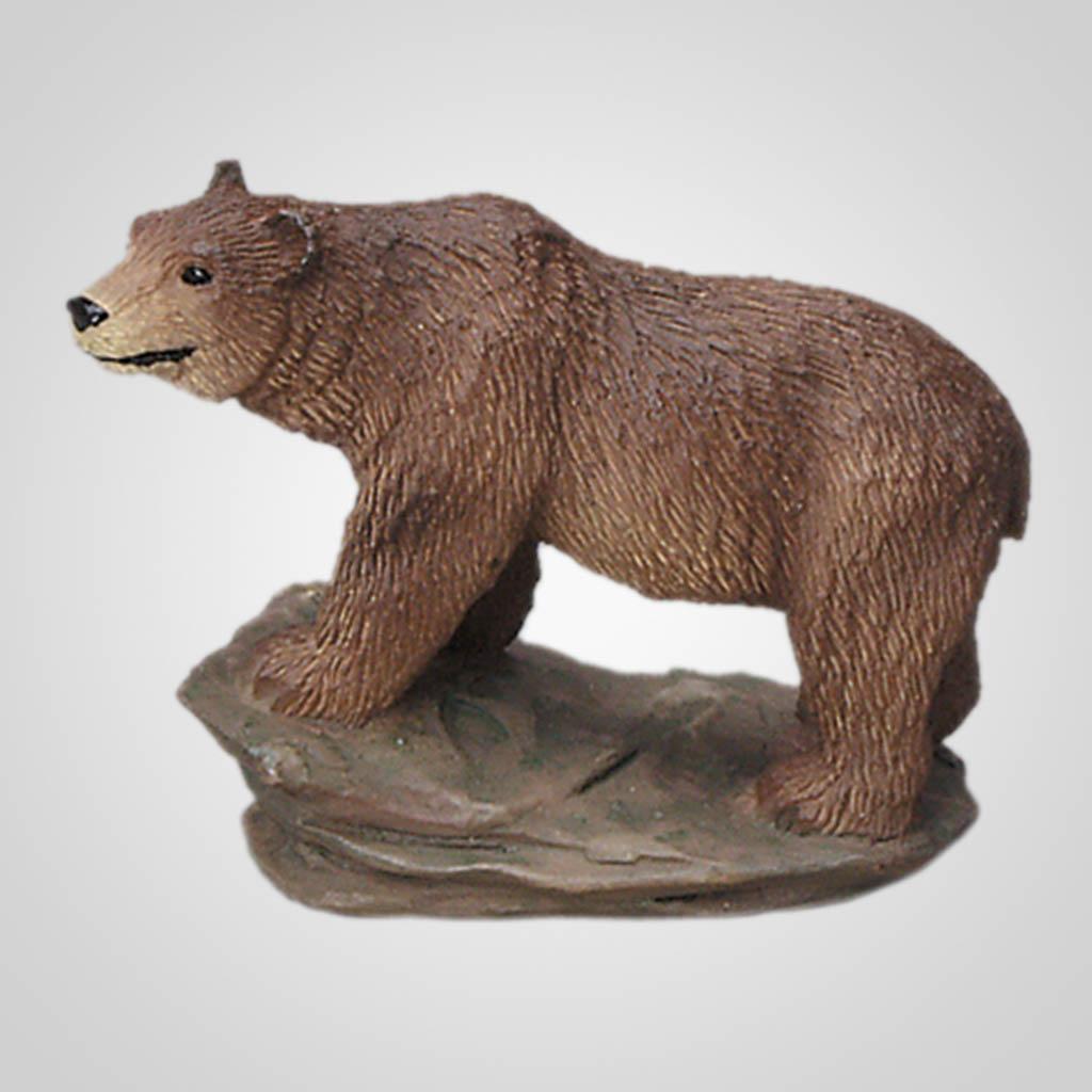 62059 - Brown Bear On Rock