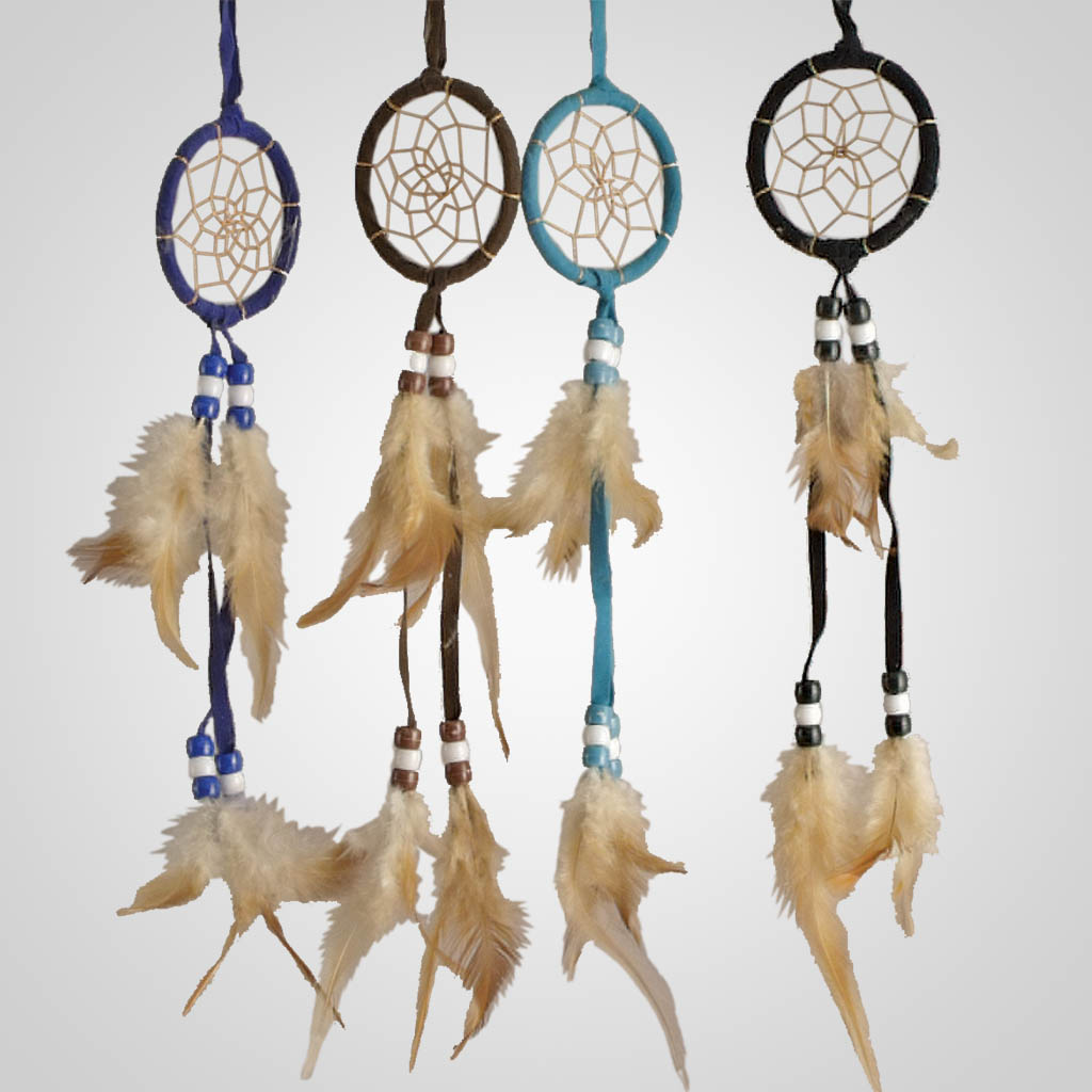 62360 - Small Leather Dreamcatcher