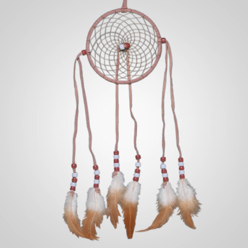 "62361 - 4"" Leather Dreamcatcher"