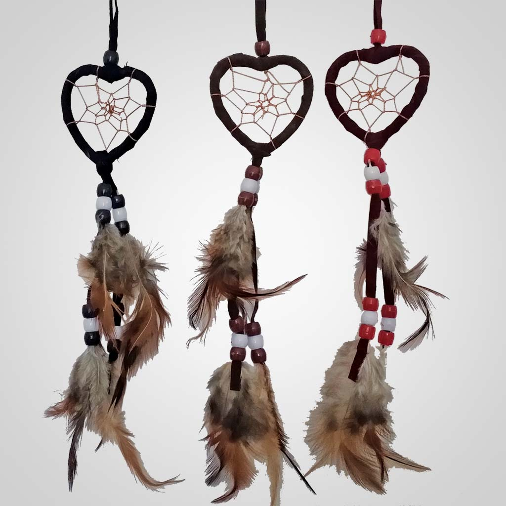 62365 - Small Heart Dreamcatcher