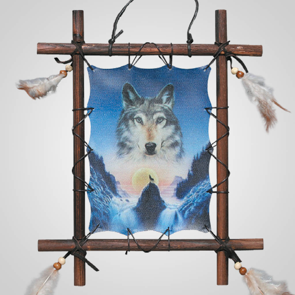 62509 - Wolf Wall Hanging