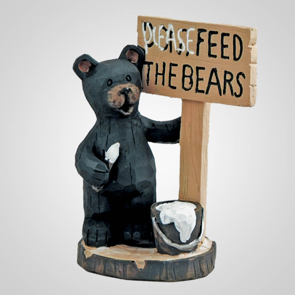 62904 - Bear Feed the Bears Sign