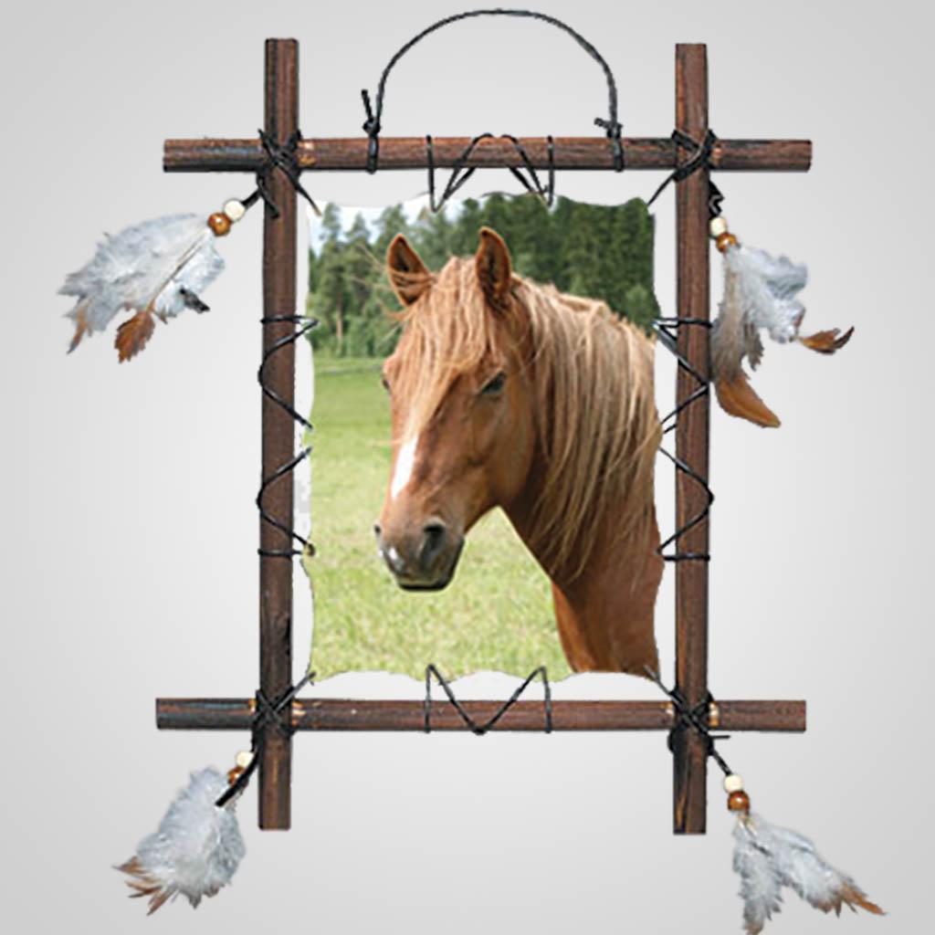 63253 - Bay Horse Wall Hanging