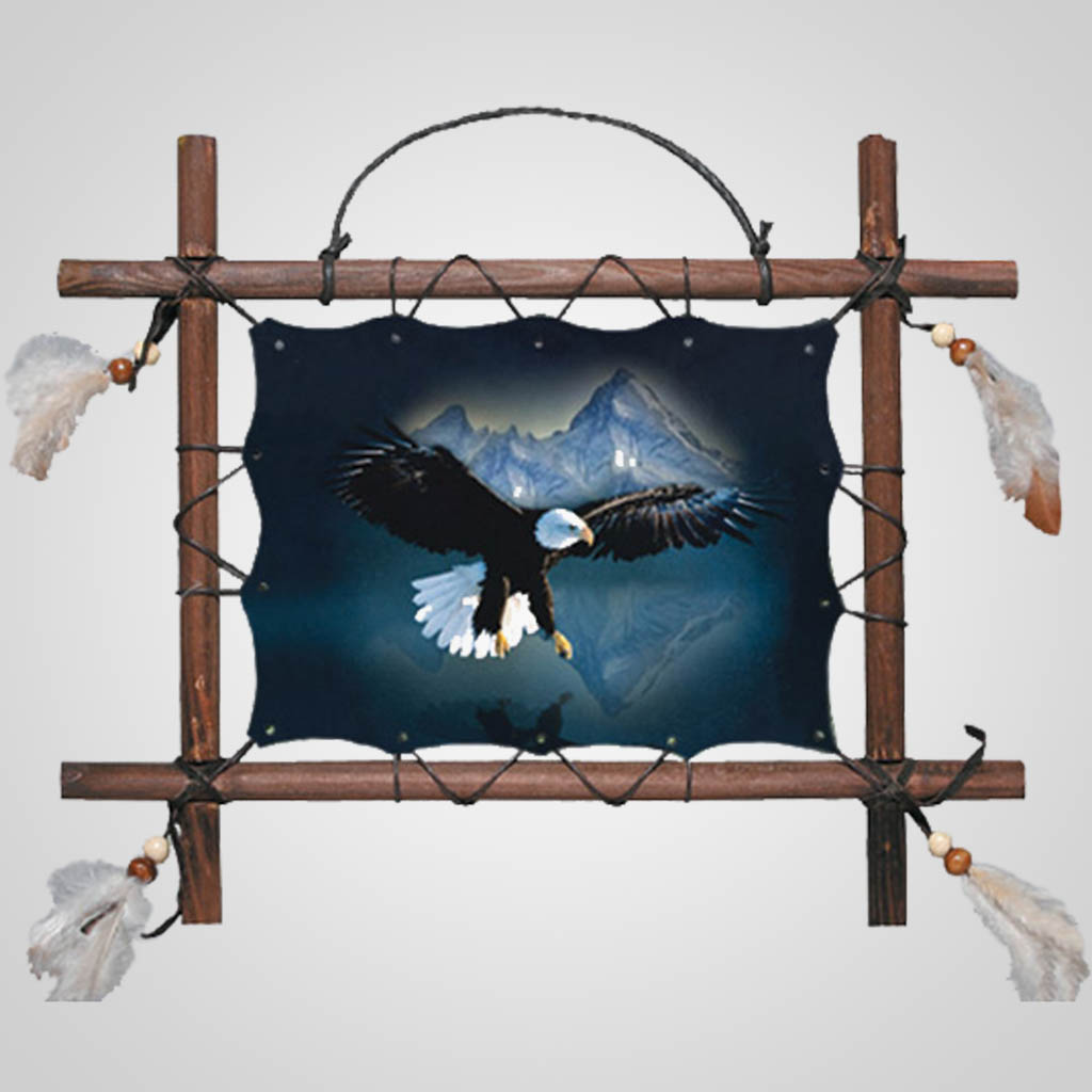 63255 - Swooping Eagle Wall Hanging