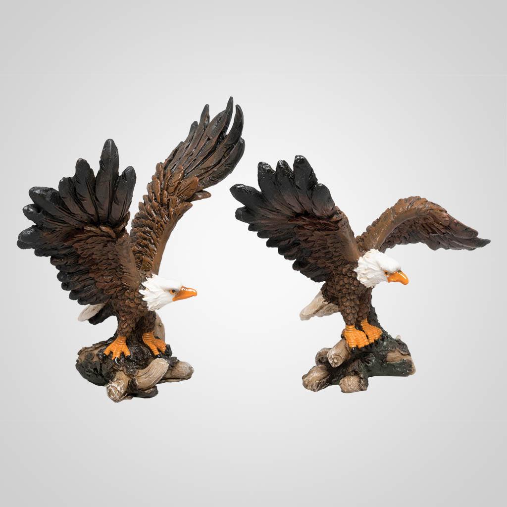 63362 - Eagle Alighting Figurine