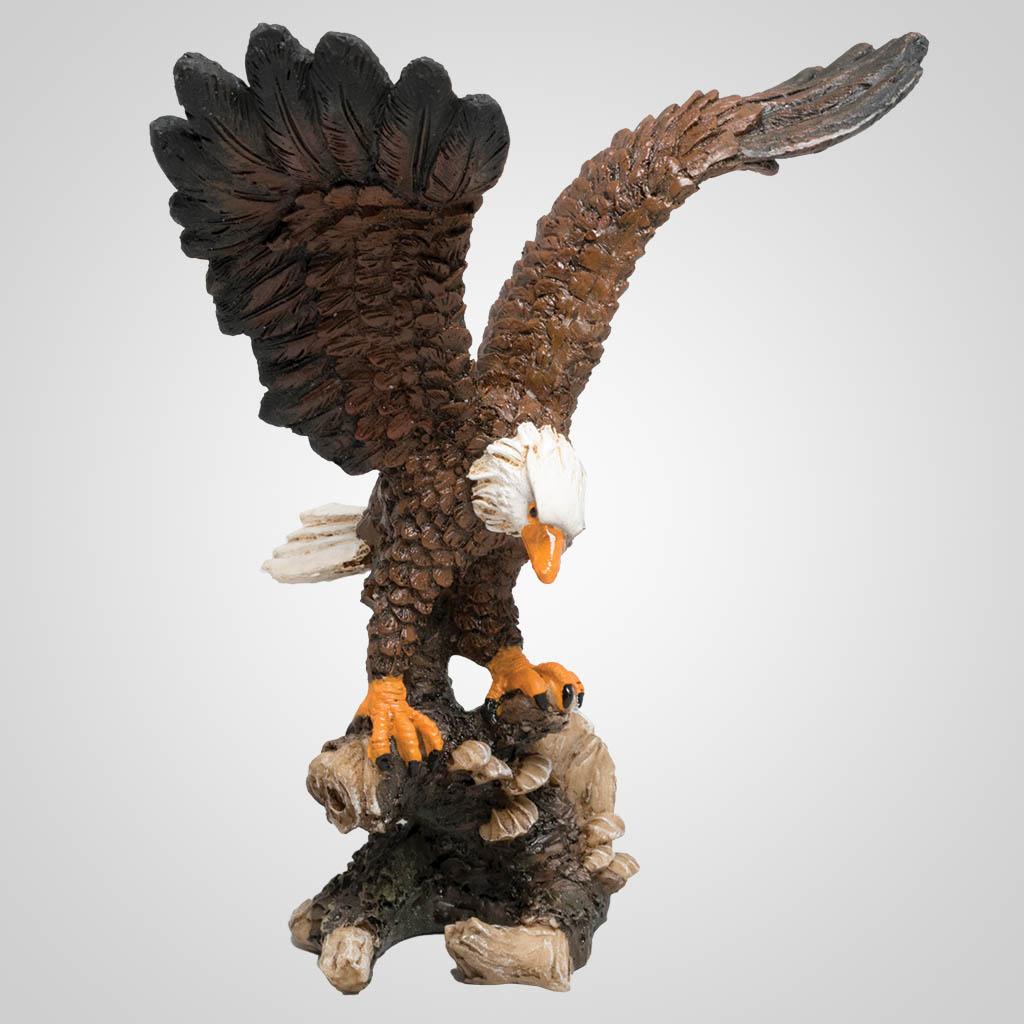 63363 - Eagle Landing on Branch Figurine