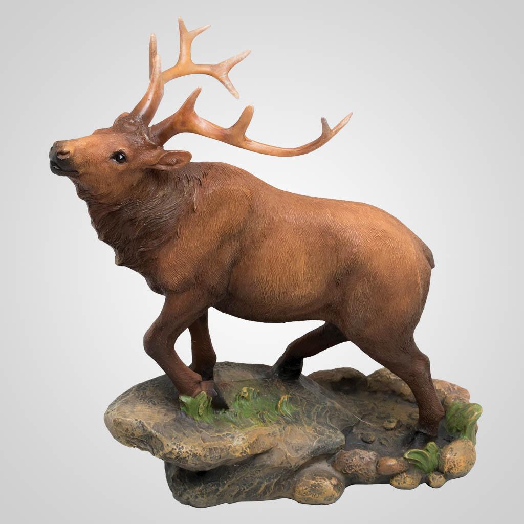 63366 - Elk on Rock