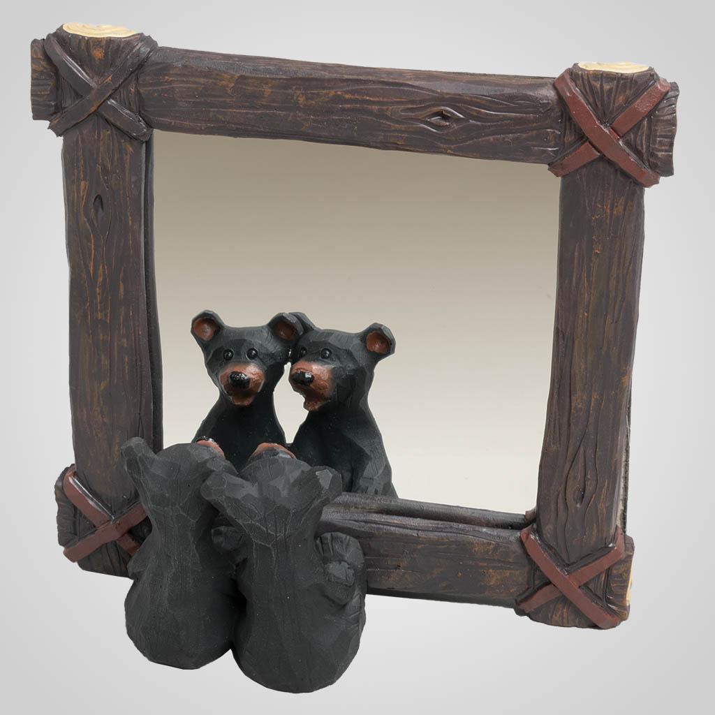 63390 - Bear Couple In Mirror