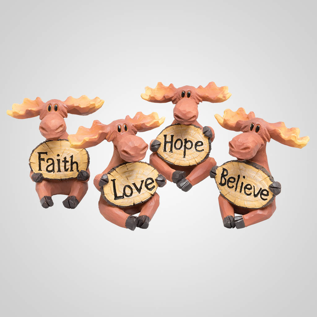 63394 - Faith, Love, Hope, and Believe Moose