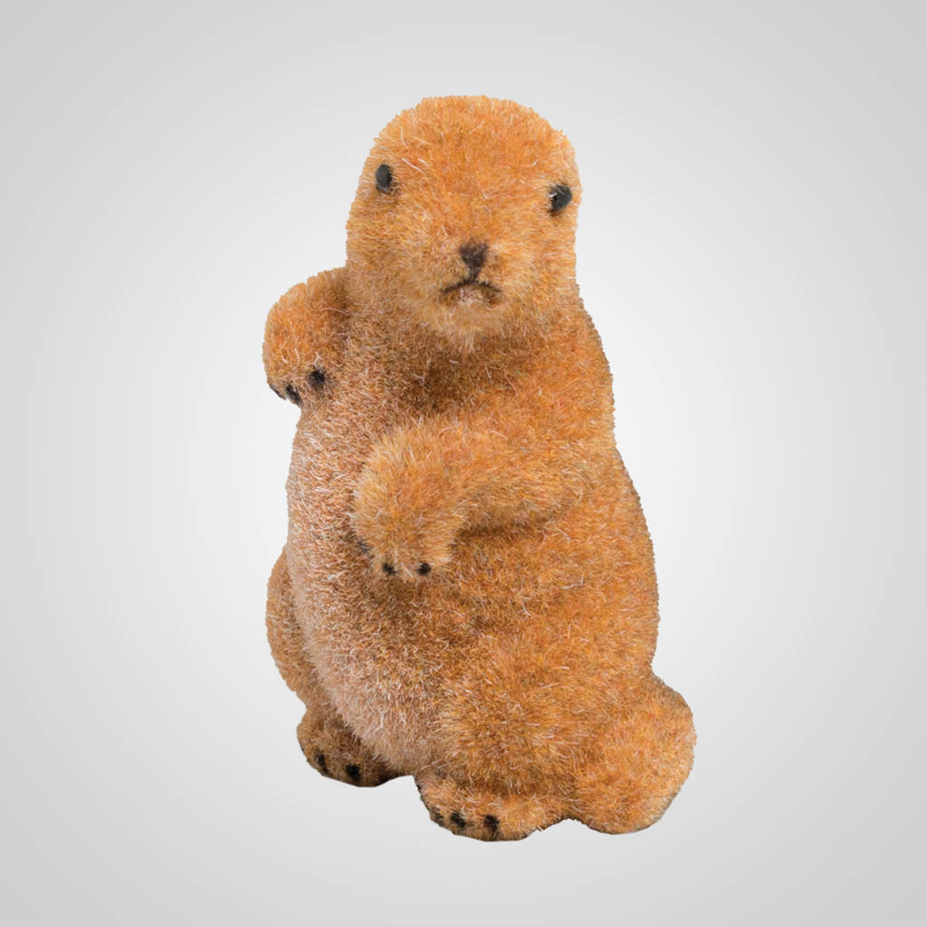 63406 - Small Flocked Prairie Dog